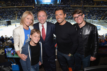 Mark Consuelos NHL Stanley Cup Final: Game Three