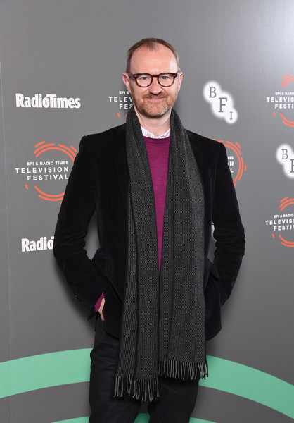 'In Conversation: Mark Gatiss On Ghost Stories'- BFI & Radio Times Television Festival 2019 [ghost stories,eyewear,outerwear,fashion,premiere,fashion design,carpet,suit,glasses,event,vision care,mark gatiss,conversation,photocall,bfi southbank,england,london,bfi radio times television festival]