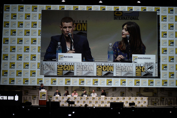 'Doctor Who' Celebrates 50 Years at Comic-Con [doctor who,photography,advertising,games,craig ferguson,steven moffat,actors,mark gatiss,david bradley,l-r,san diego convention center,bbc america,50th anniversary - comic-con international]