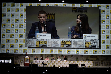 Mark Gatiss Steven Moffat 'Doctor Who' Celebrates 50 Years at Comic-Con
