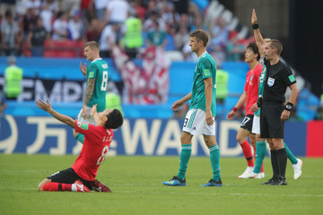 Mark Geiger Korea Republic Vs. Germany: Group F - 2018 FIFA World Cup Russia