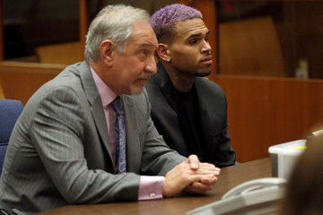 Mark Geragos Chris Brown Probation Violation Hearing