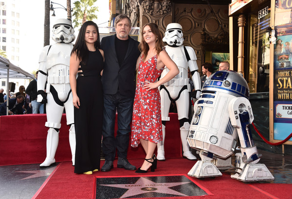 Mark Hamill Is Honored With A Star On The Hollywood Walk Of Fame
