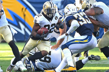 Mark Ingram New Orleans Saints vs. Los Angeles Chargers