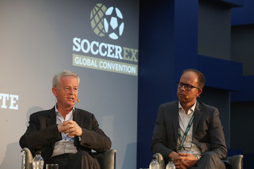 Mark Kelly Soccerex Global Convention - Day 1
