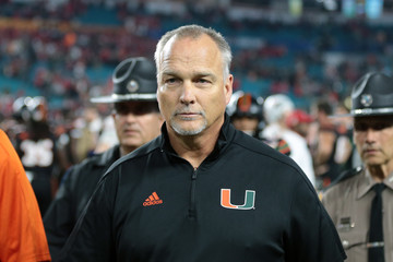 Mark Richt Capital One Orange Bowl - Miami v Wisconsin