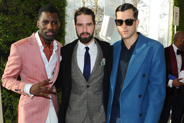 Mark Ronson Front Row at The London Collections