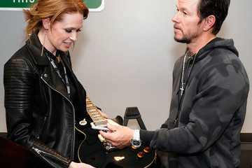 Mark Wahlberg Absolut Grapefruit Celebrated With The Stars Backstage At The 61st GRAMMY Awards