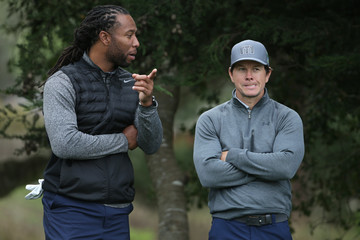 Mark Wahlberg AT&T Pebble Beach Pro-Am - Round One