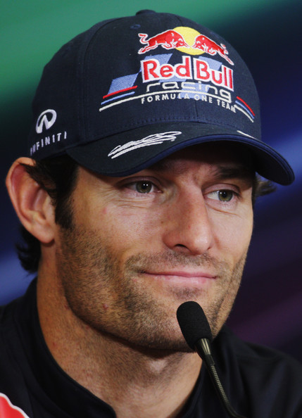 Mark Webber Mark Webber of Australia and Red Bull Racing attends the drivers press conference during previews to the European Formula One Grand Prix at the Valencia Street Circuit on July 23, 2011, in Valencia, Spain.