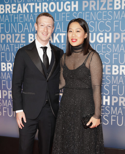 Mark Zuckerberg and Priscilla Chan Photos Photos - 2019