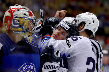 Markus Nutivaara Finland Vs. United States - 2018 IIHF Ice Hockey World Championship