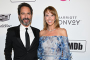 Eric McCormack and Janet Holden attend the 27th annual Elton John AIDS Foundation Academy Awards Viewing Party celebrating EJAF and ghe 91st Academy Awards on February 24, 2019 in West Hollywood, California.