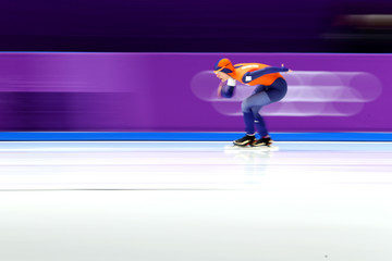 Marrit Leenstra Speed Skating - Winter Olympics Day 3