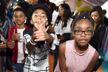 Marsai Martin Nickelodeon's 2017 Kids' Choice Awards - Red Carpet