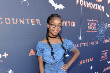 Marsai Martin GOOD+ Foundation Halloween Bash Presented by Beautycounter, Delta Air Lines and Farfetch at the Culver Studios