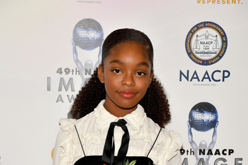 Marsai Martin 49th NAACP Image Awards Nominees' Luncheon - Arrivals