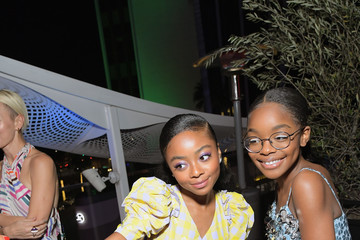 Marsai Martin InStyle And Kate Spade Dinner At Spring Place