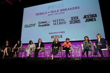 Marta Kauffman Carly Mensch Netflix - Rebels And Rules Breakers For Your Consideration Event - Panels