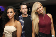 Diandra Barnwell, Tom Ierna and Danielle Moinet attend the Talent Resources Sports Party hosted by Martell Cognac at Playboy Headquarters on July 11, 2017 in Los Angeles, California.