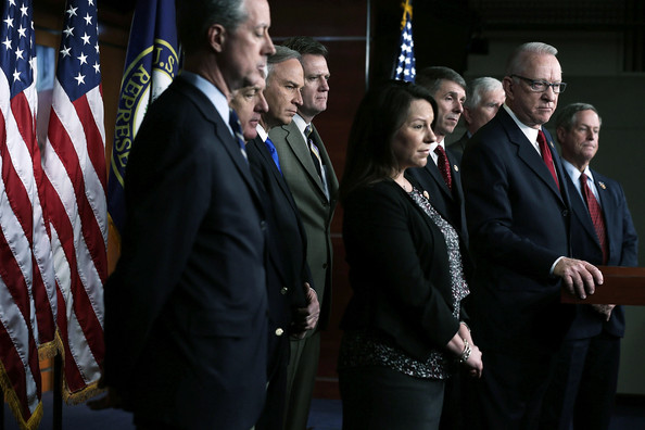 House Republicans Holds News Conference On Nat'l Security Budget Cuts