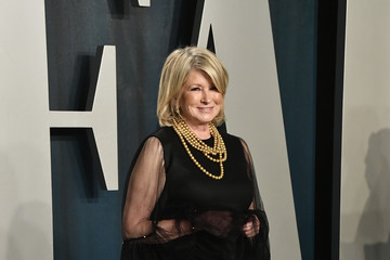 Martha Stewart 2020 Vanity Fair Oscar Party Hosted By Radhika Jones - Arrivals