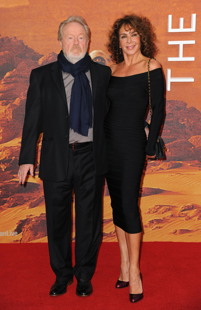 Giannina Facio, Ridley Scott - Ridley Scott Photos - 'The Martian ...
