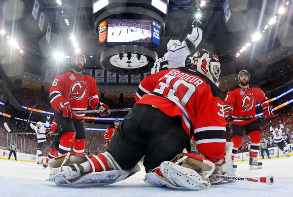 52b7c534c Martin Brodeur and Stephen Gionta Photos Photos - 2012 NHL Stanley ...