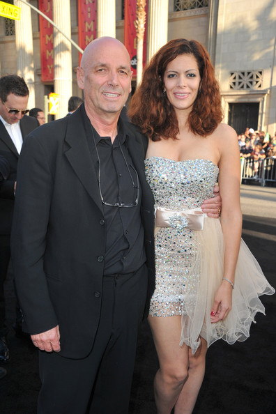 Martin Campbell and his wife Sol E. Romero in the in the premiere of Green Lantern