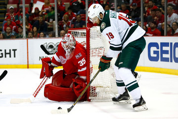 Martin Hanzal Minnesota Wild v Detroit Red Wings