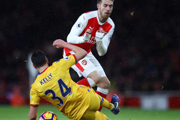 Martin Kelly Arsenal v Crystal Palace - Premier League