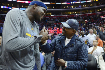Martin Lawrence Memphis Grizzlies v Los Angeles Clippers