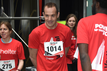 Martin Lewis Celebrities Take Part In The Shelter: Vertical Rush