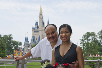 Yolanda King Martin Luther King III, Wife Andrea And Daughter Yolanda Visit Disney World