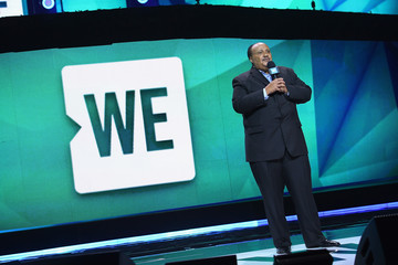 Martin Luther King III Celebs Attend WE Day New York Welcome to Celebrate Young People Changing the World