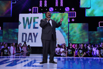 Martin Luther King III Stars Hang Out at We Day Minnesota