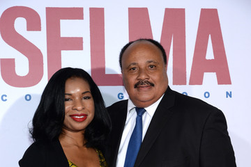 "Martin Luther King III ""Selma"" New York Premiere - Inside Arrivals"