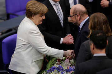 Martin Schulz New German Government Sworn In, Merkel Takes Fourth Term