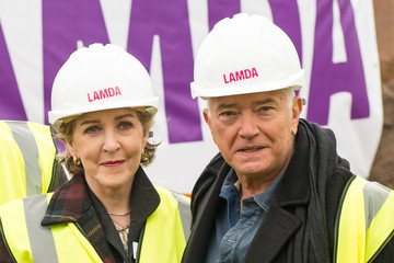 Martin Shaw LAMDA Ground Breaking - Photocall