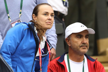 Martina Hingis Day Three: The Championships - Wimbledon 2016