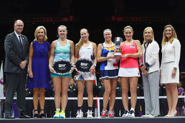 Martina Navratilova BNP Paribas WTA Finals Singapore Presented by SC Global - Day 8