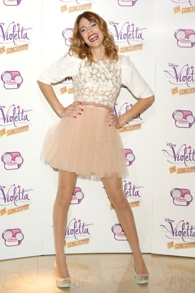 Martina Stoessel Martina Stoessel attends the 'Violetta' photocall at