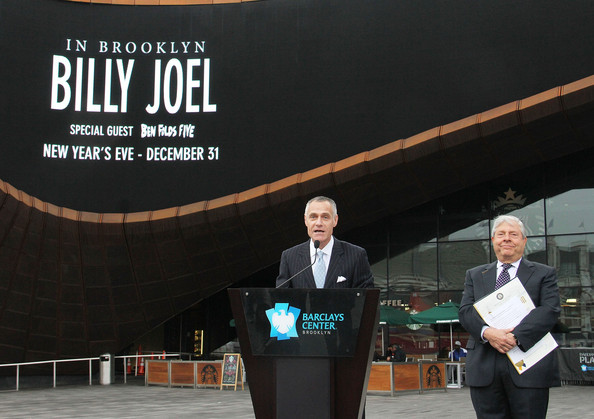Barclay's New Year's Eve Concert Announcement