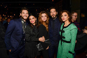 """Ben Barnes, Floriana Lima, Giorgia Whigham, Jon Bernthal and Amber Rose Revah attends Marvel's """"The Punisher"""" Los Angeles Premiere at ArcLight Hollywood on January 14, 2019 in Hollywood, California."""
