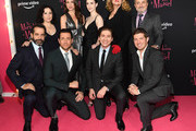 "Tony Shalhoub, Alex Borstein, Marin Hinkle, Zachary Levi, Rachel Brosnahan, Michael Zegen, Caroline Aaron, Joel Johnstone and Kevin Pollak attends the ""The Marvelous Mrs. Maisel"" New York Premiere at The Paris Theatre on November 29, 2018 in New York City."