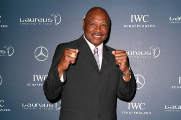 Marvin Hagler Laureus Charity Event