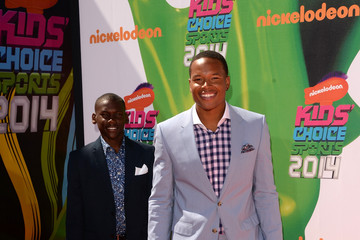 Marvin Jones Arrivals at the Nickelodeon Kids' Choice Sports Awards