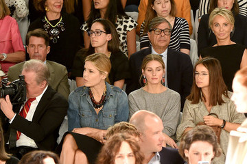Mary Alice Stephenson Carolina Herrera - Front Row - Mercedes-Benz Fashion Week Spring 2015