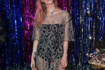 Mary Charteris Burberry x Cara Delevingne Christmas Party, London