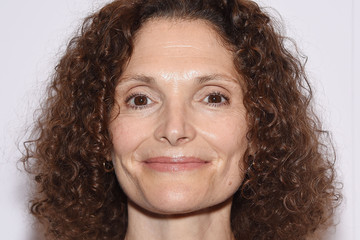 Mary Elizabeth Mastrantonio Actors Pose at the 'A Little Chaos' New York Premiere